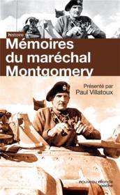 Mémoires du Maréchal Montgomery - Couverture - Format classique