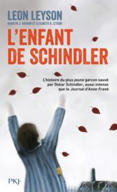 L'enfant de Schindler - Couverture - Format classique