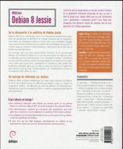 Debian 8 Jessie - 4ème de couverture - Format classique