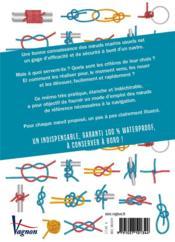Les noeuds marins ; critères de choix, usages, réalisation - 4ème de couverture - Format classique