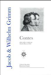 Contes de Grimm (en 1 volume) - Couverture - Format classique