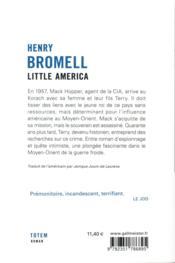 Little America - 4ème de couverture - Format classique