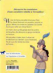 Cavalière du roi T.1 ; Ninon la rebelle - 4ème de couverture - Format classique
