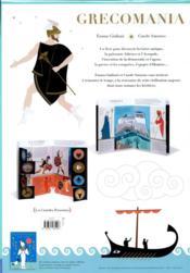 Grecomania - 4ème de couverture - Format classique