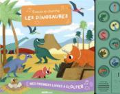 Mes premiers livres à écouter ; écoute et cherche les dinosaures - Couverture - Format classique