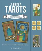 La boîte à tarots ; apprenez à tirer et intrepréter les cartes - Couverture - Format classique