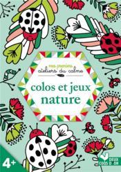 Colos et jeux nature - Couverture - Format classique