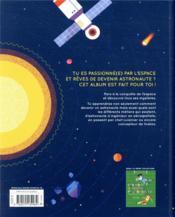 Comment devenir un astronaute ? - 4ème de couverture - Format classique