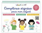 Comptines signées pour mon enfant - Couverture - Format classique