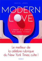 Modern love - Couverture - Format classique