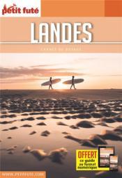 GUIDE PETIT FUTE ; CARNETS DE VOYAGE ; Landes (édition 2021/2022) - Couverture - Format classique