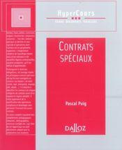Contrats Speciaux - Intérieur - Format classique