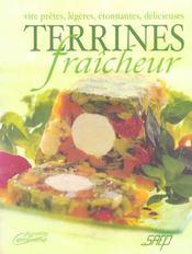 Terrines fraicheur - Intérieur - Format classique