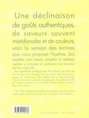 Terrines fraicheur - 4ème de couverture - Format classique