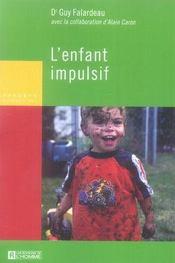 L'enfant impulsif - Intérieur - Format classique