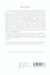 Jeux De Reves Et Autres Detours - 4ème de couverture - Format classique