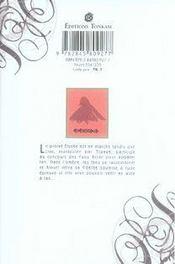 Fairy cube t.3 - 4ème de couverture - Format classique
