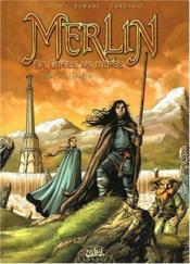 Merlin - la quête de l'épée T.1 ; prophétie - Couverture - Format classique