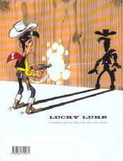 Lucky Luke T.69 ; l'artiste peintre - 4ème de couverture - Format classique