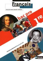 Francais ; 1ère bac pro ; livre de l'élève (édition 2010) - Couverture - Format classique