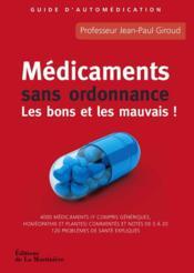 Médicaments sans ordonnance - Couverture - Format classique