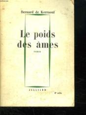 Le Poids Des Ames. - Couverture - Format classique