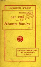 Les Vies Des Hommes Illustres, Tome Vi - Couverture - Format classique