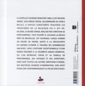 Le musée Hergé - 4ème de couverture - Format classique