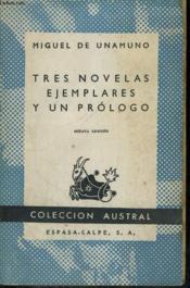 Tres Novelas Ejemplares Uy Un Prologo - Couverture - Format classique