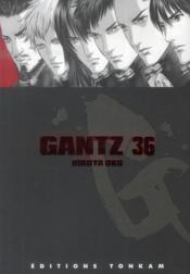 Gantz T.36 - Couverture - Format classique