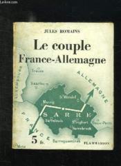 Le Couple France Allemagne. - Couverture - Format classique