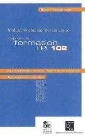 Support de formation lpi 102 - Couverture - Format classique