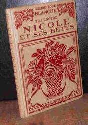 Nicole Et Ses Betes - Couverture - Format classique
