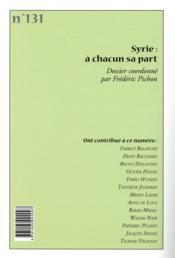 Cahiers de l'Orient N.131 ; Turquie : vers un nouvel emprire ? - 4ème de couverture - Format classique