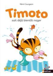 Timoto sait déjà bientot nager - Couverture - Format classique