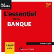 L'essentiel de la banque (édition 2020/2021) - Couverture - Format classique