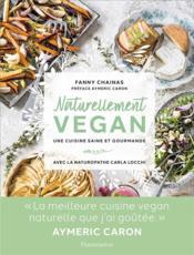 Naturellement vegan - Couverture - Format classique