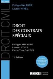 Droit des contrats spéciaux (11e édition) - Couverture - Format classique