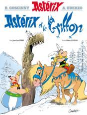 Astérix T.39 ; Astérix et le griffon - Couverture - Format classique