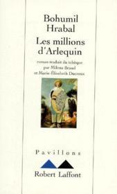 Les millions d'Arlequin - Couverture - Format classique