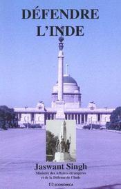 La Defense De L'Inde ; Edition 2001 - Intérieur - Format classique