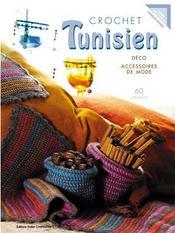 Crochet tunisien ; déco et accessoires de mode - Intérieur - Format classique