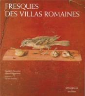 Fresques des villas romaines - Couverture - Format classique