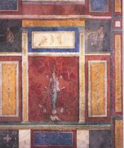 Fresques des villas romaines - 4ème de couverture - Format classique