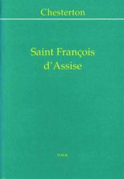 Saint francois d assise - Couverture - Format classique
