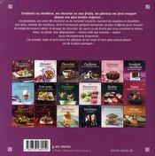 Fondants et moelleux - 4ème de couverture - Format classique