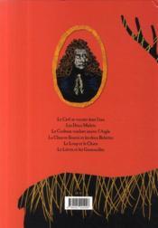Les fables de La Fontaine ; le cerf se voyant dans l'eau et autres fables - 4ème de couverture - Format classique