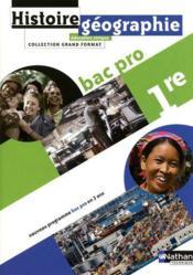 telecharger Histoire-geographie – 1ere bac pro – manuel de l'eleve (edition 2010) livre PDF/ePUB en ligne gratuit