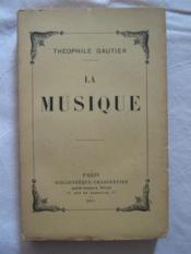 La musique - Couverture - Format classique