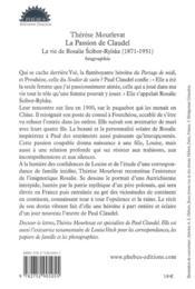 La passion de Caudel - 4ème de couverture - Format classique